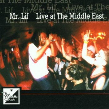 Live at the Middle East cover art