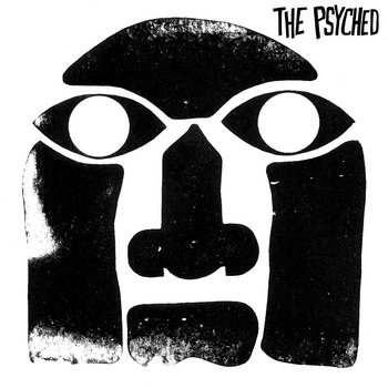 "THE PSYCHED ""self-titled"" LP cover art"