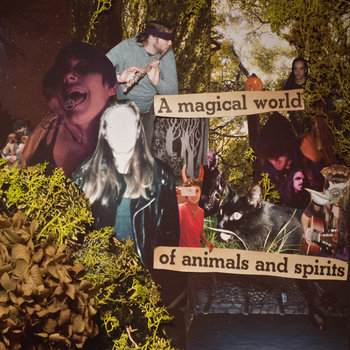 A Magical World of Animals and Spirits cover art