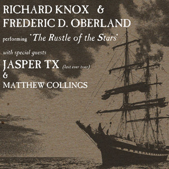 Gig Archive - 'The Rustle Of The Stars' / Jasper TX / Matthew Collings - Wee Red Bar, 11th April 2012 cover art