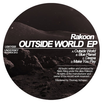 [USKY008] Outside World EP cover art