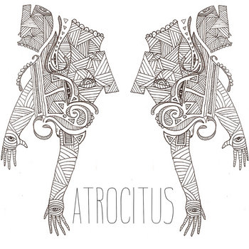 Atrocitus/Ex-Breathers Split cover art