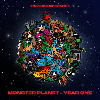 Monster Planet - Year One cover art