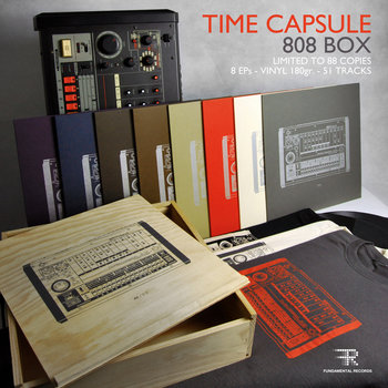 Time Capsule - 808 Box cover art