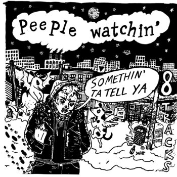 "Peeple Watchin' ""Somethin' To Tell Ya"" cover art"