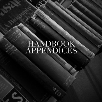 Appendices cover art