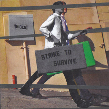Strike to Survive/Hides Split E.P. cover art
