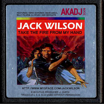 TAKE THE FIRE FROM MY HAND cover art
