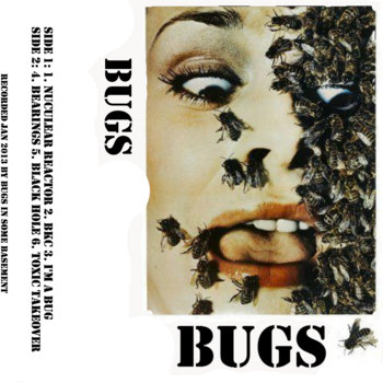 BUGS tape cover art