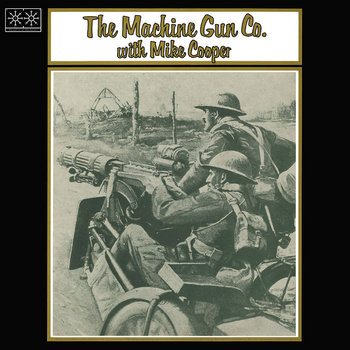 Places I Know/The Machine Gun Co. with Mike Cooper cover art