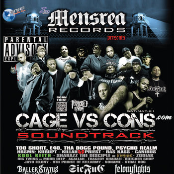 Killah Priest of Wu Tang Presents Cage Vs Cons Soundtrack cover art
