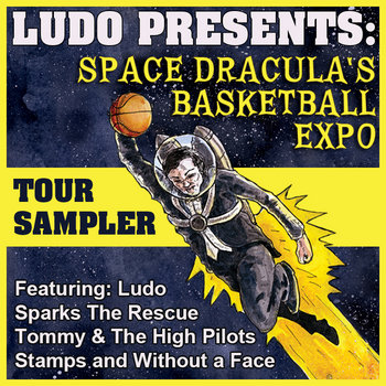 Space Dracula's Basketball Expo Tour Sampler cover art