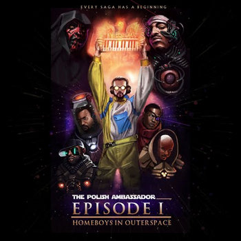 Homeboys in Outerspace - Episode 1 cover art