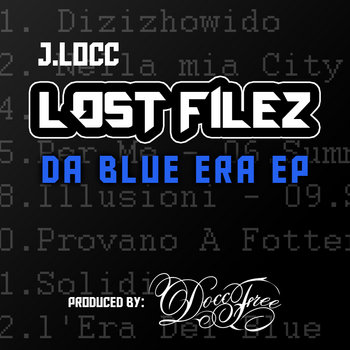 Lost Filez EP cover art