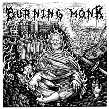 Burning Monk cover art