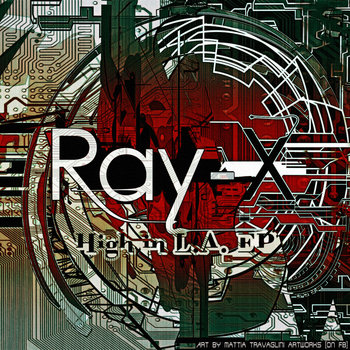 Ray-X - High in L.A. cover art