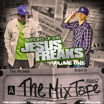 Memoirs of the Jesus Freaks (The Mixtape) cover art