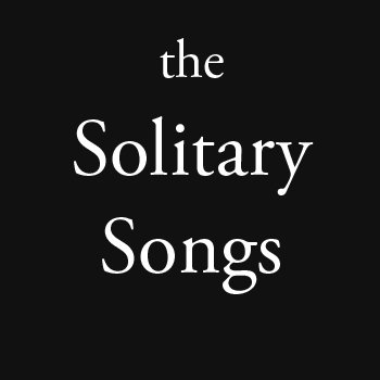the Solitary Songs cover art