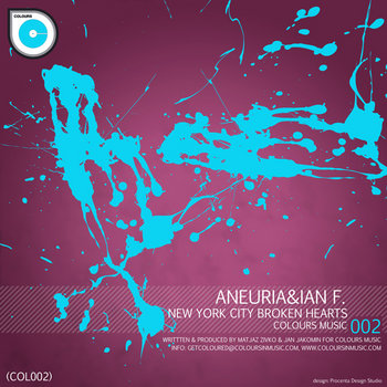Aneuria and Ian F. - New York City Broken Hearts EP (COL002) cover art