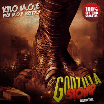 GODZILLASTOMP the Mixtape cover art