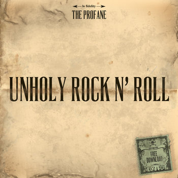 UNHOLY ROCK N' ROLL (New Album 2014 - ADVANCE) cover art
