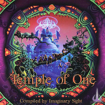 Temple Of One - V.A. (Glowing Flame Records) cover art