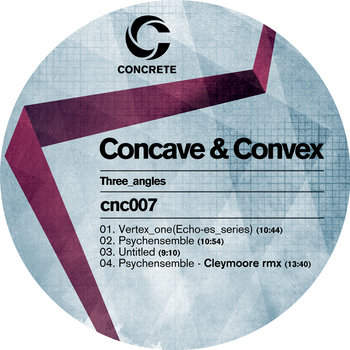 Concave and Convex cover art