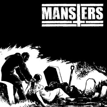 "Mansters 7"" EP cover art"