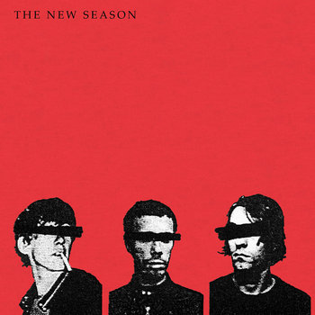 THE NEW SEASON - s/t EP 12&quot; reissue cover art