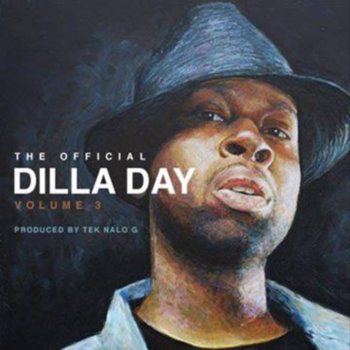 The Official Dilla Day vol 3 cover art