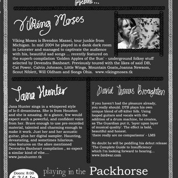 Live in Leeds: The Packhorse 08/03/05 cover art