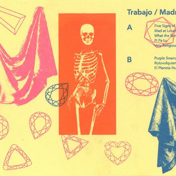 Trabajo & Madrugapha: Split Tape cover art