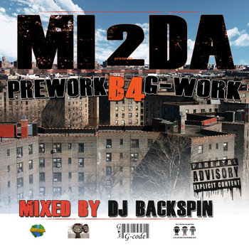 PreWork B4 G-Work Mixed by Dj Backspin cover art