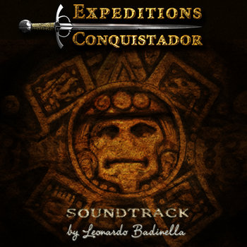 Expeditions: Conquistador Soundtrack cover art