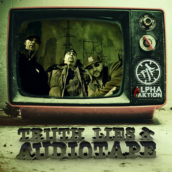 Truth, Lies & Audiotape EP cover art