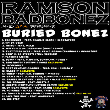 Buried Bonez cover art