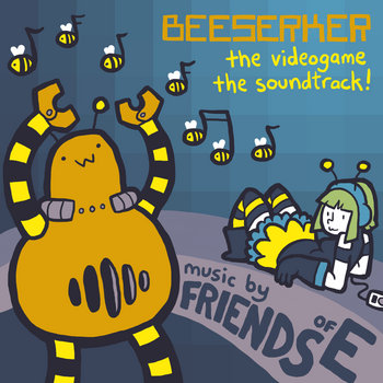 Beeserker: The Videogame: The Soundtrack cover art