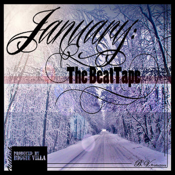 January: The BeatTape cover art