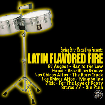 VA - Latin Flavored Fire cover art