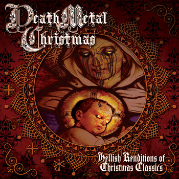 Death Metal Christmas cover art