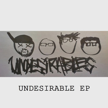 Undesirable EP cover art