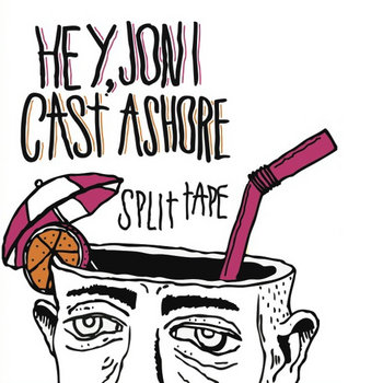 Hey, Joni//Cast Ashore split cover art
