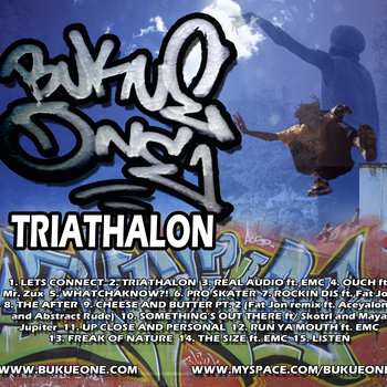 Triathalon cover art