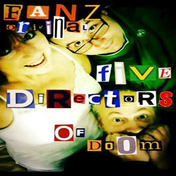 Fanz Original - Five Directors of Doom cover art