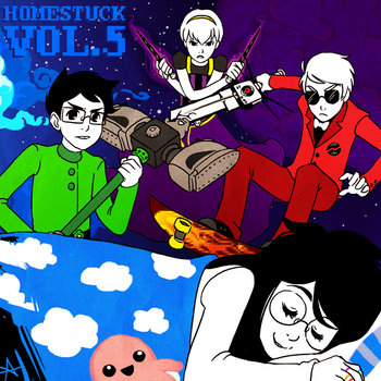 Homestuck Vol. 5 cover art