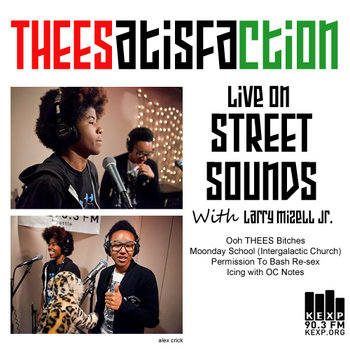 THEESatisfaction LIVE on KEXP Street Sounds cover art