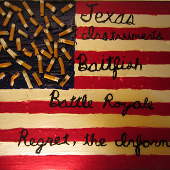 Split w/ Baitfish, Battle Royale, Regret. The Informer cover art