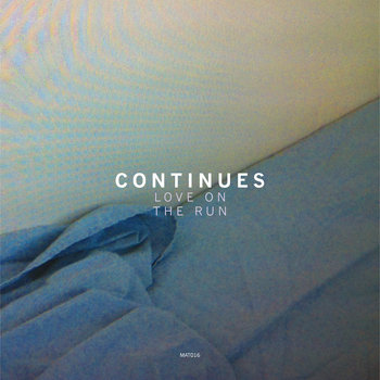 "Continues / Felt Drawings 7"" split single cover art"