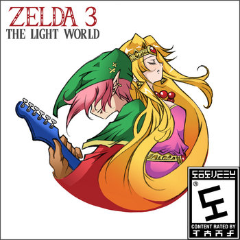 Zelda 3: The Light World cover art