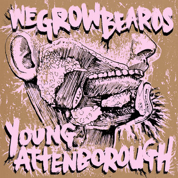 Wegrowbeards / Young Attenborough Split cover art